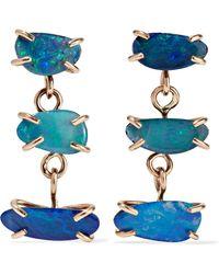 Melissa Joy Manning - 14-karat Gold Opal Earrings - Lyst