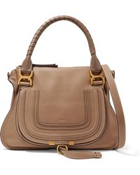 Chloé - Large 'marcie' Tote - Lyst