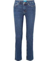 M.i.h Jeans - Daily High-rise Straight-leg Jeans - Lyst