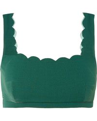 Marysia Swim - Palm Springs Top In Green - Lyst