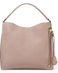 Tom Ford - Alix Medium Textured-leather Tote - Lyst