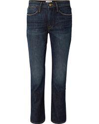 FRAME - Le High Straight-leg Jeans - Lyst