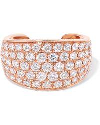 Anita Ko | Galaxy 18-karat Rose Gold Diamond Ear Cuff | Lyst