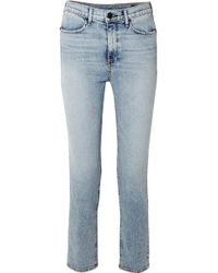 Rag & Bone | Cigarette High-rise Slim-leg Jeans | Lyst