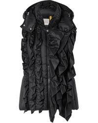 551964a01 4 Simone Rocha Ruffled Quilted Shell Vest