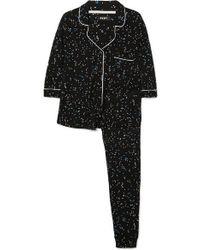 DKNY Bedruckter Pyjama Aus Jersey