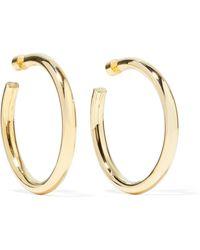 Jennifer Fisher - Samira Gold-plated Hoop Earrings - Lyst