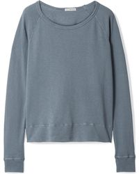 James Perse - Vintage Supima Cotton-terry Top - Lyst