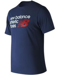 New Balance - Essentials Normal Tee - Lyst