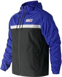 114262d30d7ca New Balance Boston Nb Athletics Windbreaker Pullover for Men - Lyst