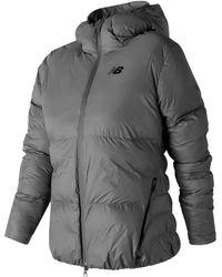 New Balance - 247 Sport Thermal Jacket - Lyst