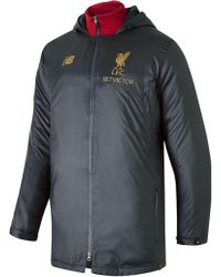 New Balance - Liverpool Fc Managers Jacket - Lyst