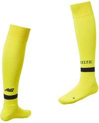 New Balance - Celtic Fc Home Gk Sock - Lyst