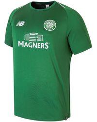 New Balance - Celtic FC Elite Training Short Sleeve Jersey - Lyst