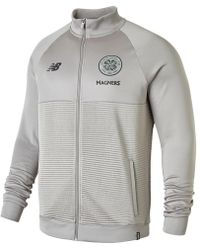 New Balance - Celtic FC Elite Training Walk Out Jacket Schuhe - Lyst