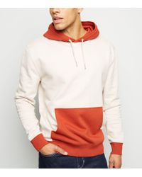 New Look Colour Block Hoodie With Half Zip In Yellow in Yellow for ... 38176a87fa
