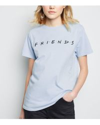 a3941bc439bc New Look Girls White Crew Neck Friends Logo T-shirt in White - Lyst