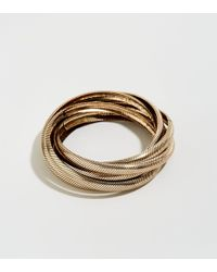 New Look - Gold 6 Row Russian Bangles - Lyst