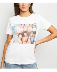 New Look - White New York Photo Print T-shirt - Lyst