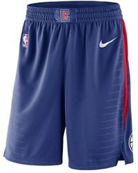 Nike - La Clippers Icon Edition Swingman Men's Nba Shorts - Lyst