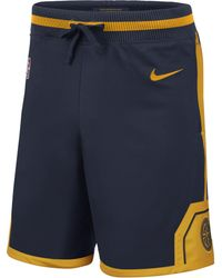 Nike - Short NBA Golden State Warriors Courtside pour Homme - Lyst