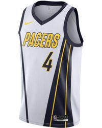 Nike Victor Oladipo Indiana Pacers Earned Edition Swingman Jersey - White