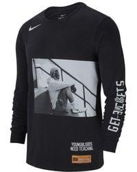 "Nike - Kyrie ""uncle Drew"" Men's Long Sleeve T-shirt - Lyst"