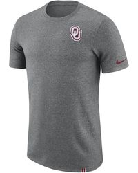 Nike | College Dry Marled Patch (oklahoma) Men's T-shirt | Lyst