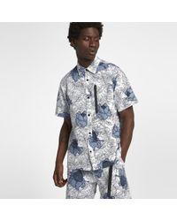 7ea82449e06ec Nike - Lab Collection Floral Men s Short Sleeve Top - Lyst