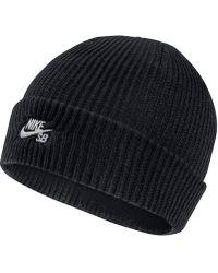 fafb37049a8 Nike - Sb Fisherman Knit Hat - Lyst