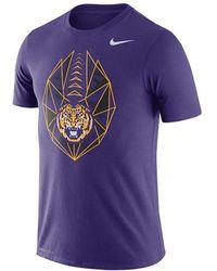 e348a5f4146d Lyst - Nike College Dri-fit Touch (lsu) Men s Training Shirt in ...
