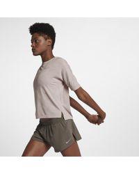 Nike - Medalist Women's Short Sleeve Running Top - Lyst