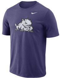 Nike - College Logo (tcu) Men's T-shirt - Lyst
