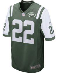 NFL Jersey's Men's New York Jets Matt Forte Nike Green Limited Jersey