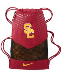 Lyst - Nike College Vapor 2.0 (usc) Gym Sack (red) in Red 5d02e0a0dbdd5