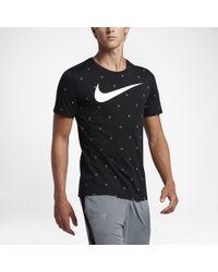 nike 10r balle magicien de football - Nike Swoosh Athlete Men's T-shirt in Gray for Men | Lyst