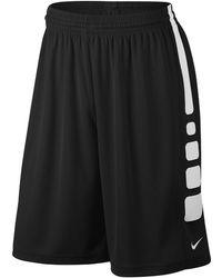 0ff7ce5679d9 Lyst - Nike Elite Women s Basketball Shorts in Black for Men