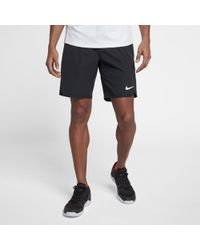779f8bf0d6cc1 Nike Court Men s Tennis Shorts in White for Men - Lyst