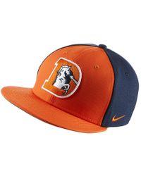 8f2af41cf Lyst - Nike Energy Xc Swoosh Flex (nfl Broncos) Fitted Hat in Orange ...