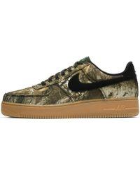 Nike - Air Force 1 '07 Lv8 3 Realtree® - Black & Aloe Verde - Lyst