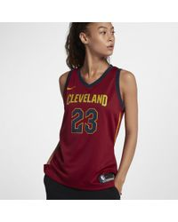 Nike - Lebron James Icon Edition Swingman Jersey (cleveland Cavaliers) Nba Connected Jersey - Lyst