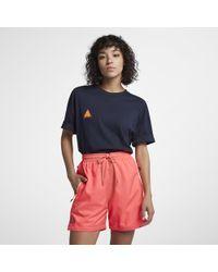 b1879cbbfc93 Lyst - Nike Acg Men s T-shirt in Blue
