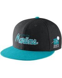 1d5e6a18971 Lyst - Nike Pro Sport Specialties (mlb Giants) Adjustable Hat (black ...