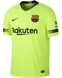 346700d3f Nike 2018-2019 Barcelona Training Shirt (tropical) - Kids Men s T ...