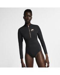 Nike - Air Long-sleeve Metallic Bodysuit - Lyst