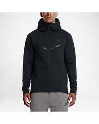 b5eb055a67 Lyst - Nike Sportswear Tech Fleece Windrunner Men s Hoodie in Green ...