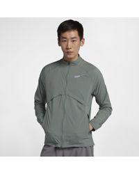 2e1f6773ea11 Lyst - Nike Shield Convertible Jacket in Black for Men