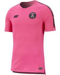 d60552168704e Nike Paris Saint-germain Football Top in Blue for Men - Lyst