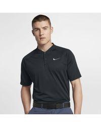 52afa68a Nike Aeroreact Momentum Men's Slim Fit Golf Polo Shirt in Black for ...