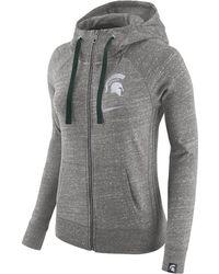 Nike - College Vintage (michigan State) Women's Hoodie - Lyst